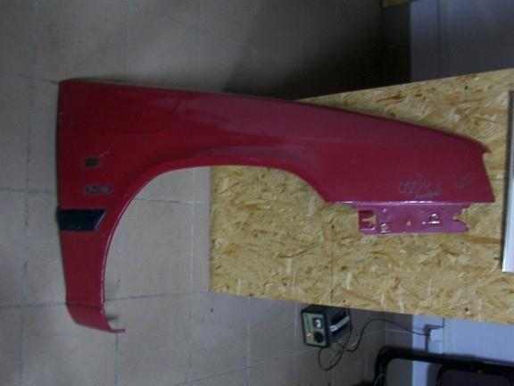 błotnik prawy przód czerwony - Citroen ZX